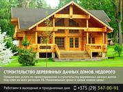 Строительство деревянных дачных домов. Брест.
