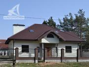 Дом под чистовую отделку 2008 г. Блок / металлочерепица. r160399