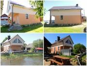 Дом на берегу озера г.п. Свирь,  от МКАД 147 км.